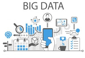 Ilustración que representa el Big data